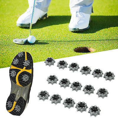 16x Replacement Golf Shoes Spikes Studs Cleats Fast Twist For Tri-Lok Footjoy UK