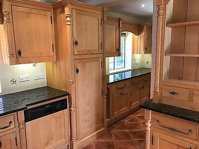 Maple Wood Kitchen   Complete with work surface