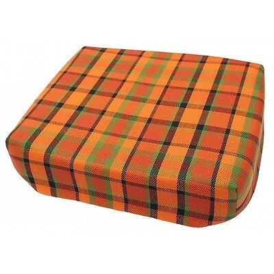 T2 Westfalia Orange Plaid Late Bay Booster Seat same as original C9483O