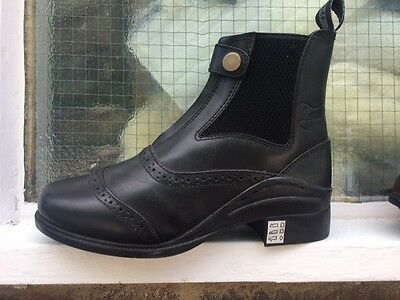 William Funnell Black & Brown Paddock Horse Riding Boots - Sale