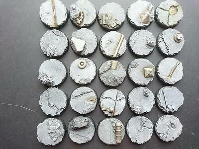 Urban Combat 10* 32mm 2017  Round bases         Warhammer 40k Mantic Warpath etc