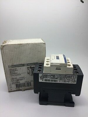 New Telemecanique 40Amp Contactor LC1D258F7 400v 11kW COIL: 110v 50/60Hz LC1D258