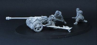 Heer46 - PaK 40 7,5 cm with Kharkov crew - Bolt Action - WW2 - 28mm - 1:56