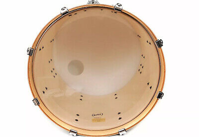 """Clear 2 Ply Resonant Bass Drum Head Skin  - Batter Side - 16""""/18""""/20"""" or 22"""""""