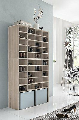 2x schuhregal f r 40 paar schuhe schuhschrank schuhst nder. Black Bedroom Furniture Sets. Home Design Ideas