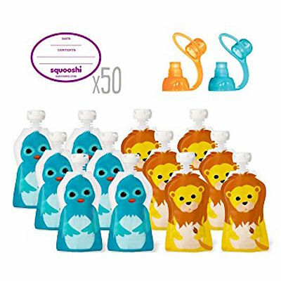 Squooshi Reusable Pouches Baby Starter Kit  ** SALE **