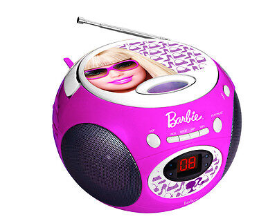 lexibook rcd 102 barbie kinder radio cd player neu ovp. Black Bedroom Furniture Sets. Home Design Ideas