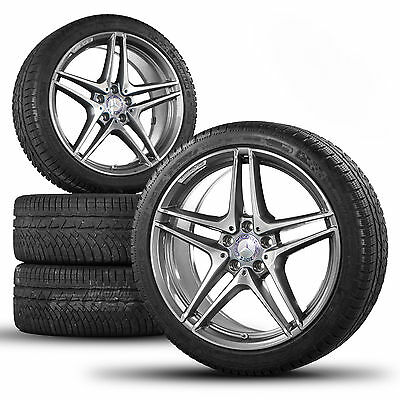 Mercedes-Benz C63 AMG W205 19 inch alloy wheels rims winter tyres winter wheels