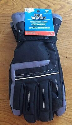 West Chester Cold Weather, Waterproof Gloves, Large, Insulated