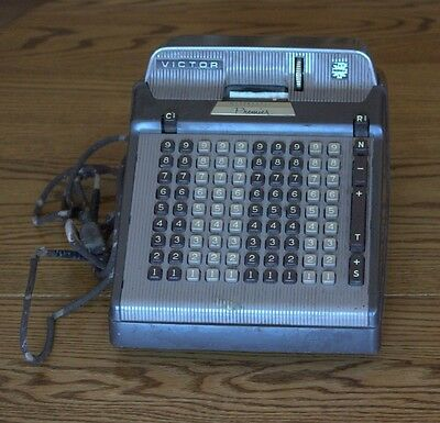 Vintage Victor Premier Cash Register Adding Machine Works