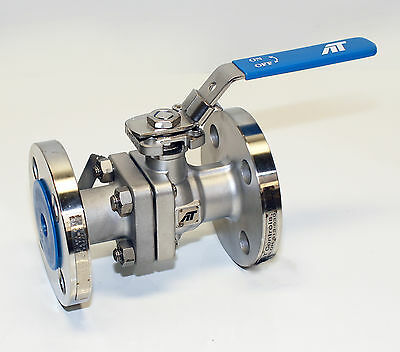 "NEW-1"" Class 300 ANSI Direct Mount Split Body Flanged Manual Ball Valve"