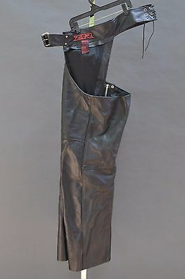 Genuine Z1R CARBINE MOTORCYCLE BIKER CHAPS 3XL NEW ++ FREE SHIPPING CANADA USA!
