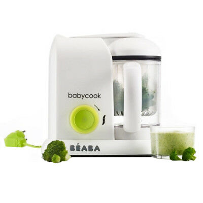 Beaba Babycook - Neon Baby Food Maker, Steamer and Cooker