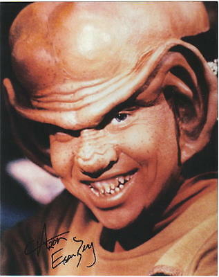 Aron Eisenberg Star Trek Deep Space 9 Nog Autograph #4