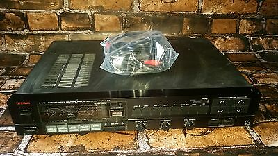LUXMAN F-105 Control Center Surround Sound Amplifier Clean & Working EUC!