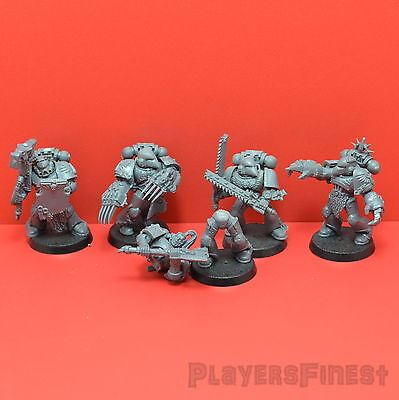 GW Blood Angels - Assault Squad 5 Mann Trupp / Kunststoff/ Warhammer 40K
