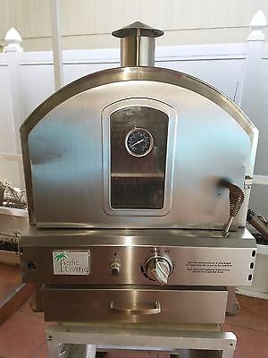 used pacific living stainless steel pizza oven