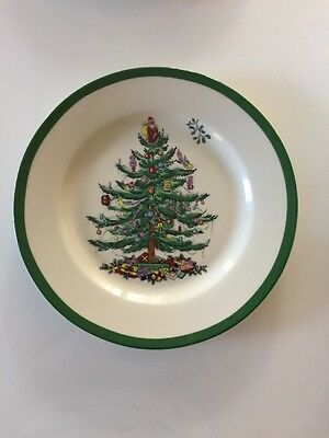 "NEW WT Spode Dinnerware, Christmas Tree Salad Plate 8"" 2014 Pattern"
