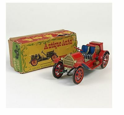 tin toy Alps Antique Auto Stuz Bearcat made in Japan vintage works box hobby 478