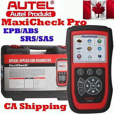 CA Ship Autel MaxiCheck Pro Code Reader Tool EPB/ABS/SRS/SAS Function Special