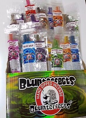8 Packs Blunteffects/Blunt effects Incense Sticks Hand Dipped Perfume Wands