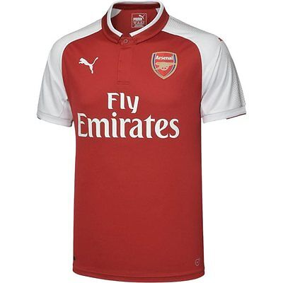 NEW Official 2017/18 Arsenal Home Jersey (Adults and Kids Sizes Available)