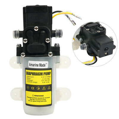 Amarine-made Automatic High Pressure Diaphragm Water Pump DC 12V 3.0L/min,