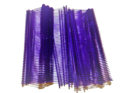 """5000 Purple 1"""" Clothing Garment Price Label Tagging Tagger Gun Barbs Fasterners"""