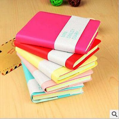 Mini Cute Diary Notebook Journal Memo Lovely Portable Smile Smiley Paper Note