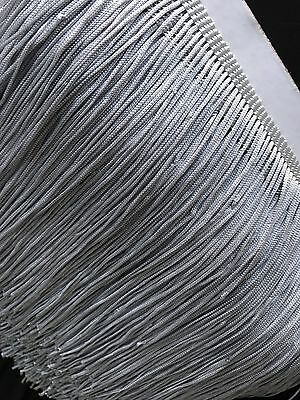 Silver Grey 15cm Braid Trim Tassel Fringe DIY Price per 30cm DIY Craft Sewing