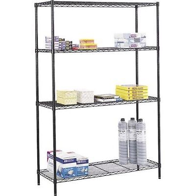 Shelving Unit Garage Storage Storeroom Racking 3 Shelf Adjustable Industrial New