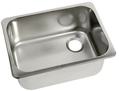 New Freshwater systems Stainless Sink 320 x 260mm Sink SS Top Fit 320x260x150