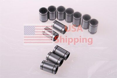 8pcs LM6UU 6x12x19mm Linear Ball Bearing For 3D Printer Part CNC DIY Motion