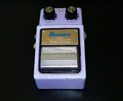 IBANEZ CS9 Stereo Chorus CLASSIC Pedal Made in Japan