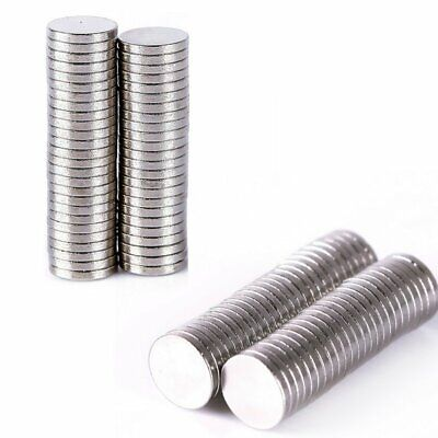 50-100Pcs Sets Super Strong Round Disc 10x1mm 10x2mm Magnets Earth Neodymium