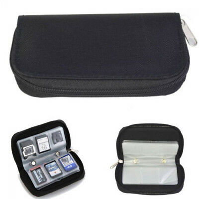Memory Card Storage Carrying Pouch Case Holder Wallet For CF/SD/SDHC/MS/DS New
