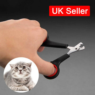 Dog Cat Nail Claw Clippers Puppy Parrot Small Large Pet Grooming Trimmers UK SUN