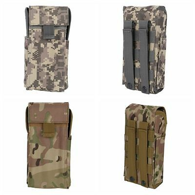US Tactical Ammo Holder Shotgun Sling Molle 25 Round Reload Magazine Pouch 12G