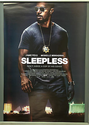 Cinema Poster: SLEEPLESS 2017 (One Sheet) Jamie Foxx Michelle Monaghan