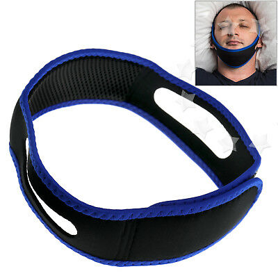 Stop Snoring Chin Strap Snore Belt Anti Apnea Jaw Strap Anti Snoring Solution