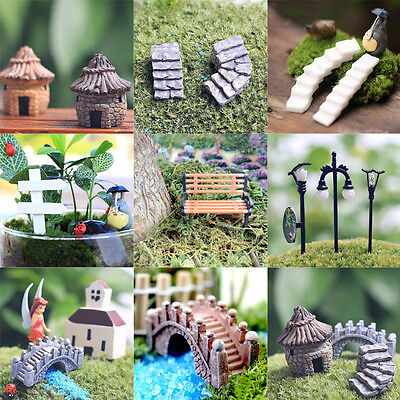 Miniature Fairy Garden Ornament Decor Pot DIY Craft Accessories Dollhouse New