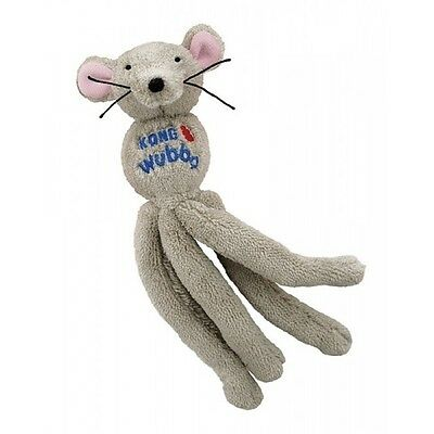 Kong Wubba Mouse Cat Toy, with Cat Nip and Rattle Body -  FREE P&P