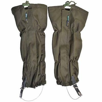 Outdoor Hiking Walking Climbing Hunting Waterproof Snow Legging Gaiters 1 Pair