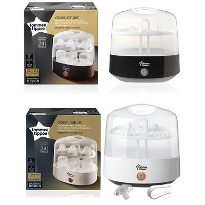 Tommee Tippee Closer to Nature Electric Steam Steriliser Gen2
