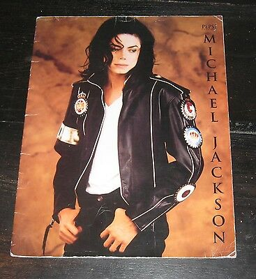 Michael Jackson PEPSI Dangerous World Tour 1992 program BOOK photos