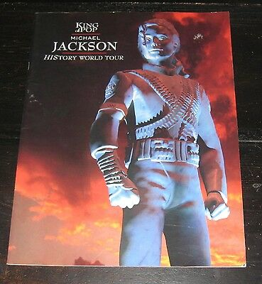 Michael Jackson HIStory World Tour 1996 program BOOK photos