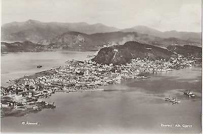 Norway Real Photo.  Alesund Panorama. Very Fine condition!   c 1950s