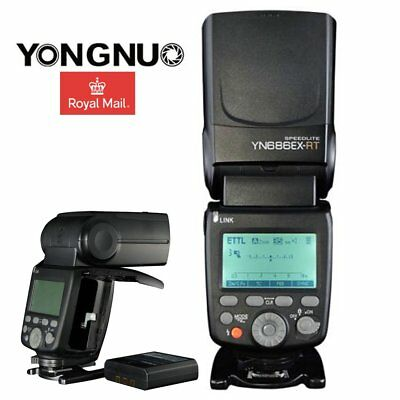 YONGNUO YN686EX-RT TTL Wireless Flash Light HSS For Canon With Li-ion Battery UK