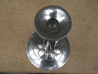 Liberty & Co Tudric Pewter Candlesticks Designed By Archibald Knox 0223