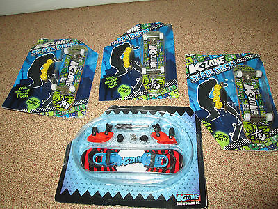 K-Zone Skate Deck & Snow Board Toys Sealed Kids Magazine Promotional Toy